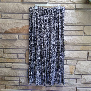 Lane Bryant chevron wide leg loose pants 14/16